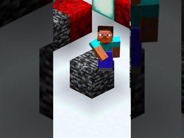 Come rompere la roccia in Minecraft